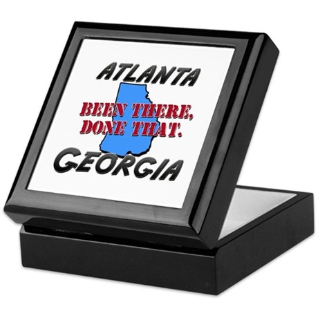 atlanta georgia - been there, done that Keepsake B
