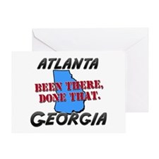 atlanta georgia - been there, done that Greeting C