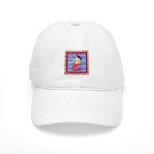 Vintage Loteria Mermaid Baseball Cap
