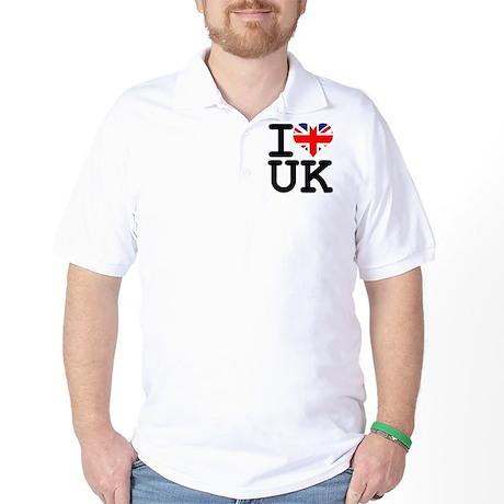 I Heart UK Golf Shirt
