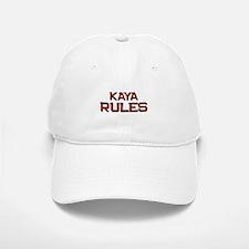 kaya rules Baseball Baseball Cap