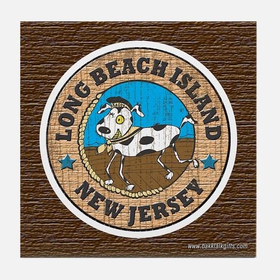 Salty Dog... Tile Coaster