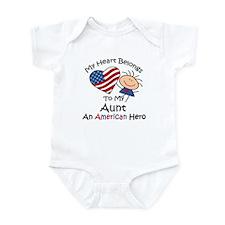 My Heart Belongs to My Aunt Infant Bodysuit