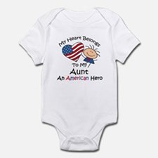 My Heart Belongs to My Aunt Infant Bodysuit