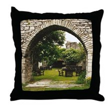 Visby Arch Throw Pillow