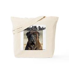 Pets bullmastiff Tote Bag