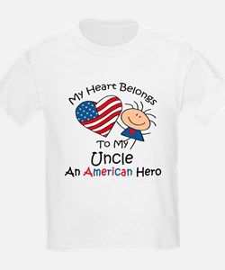 My Heart Belongs to My Uncle T-Shirt