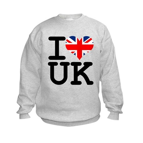 I Heart UK Kids Sweatshirt