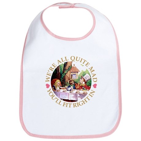 MAD HATTER'S TEA PARTY Bib