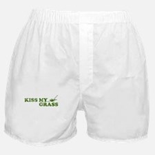 Kiss my Grass Boxer Shorts