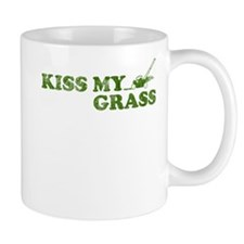 Kiss my Grass Mug