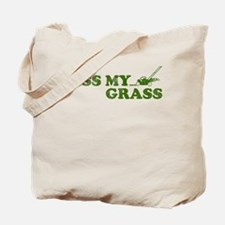Kiss my Grass Tote Bag