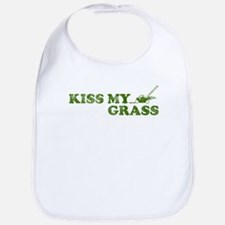 Kiss my Grass Bib