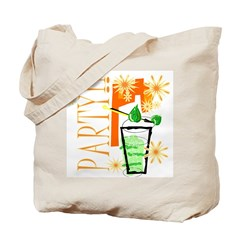 Party Tropical Style Tote Bag