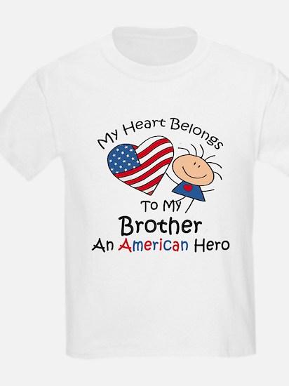 My Heart Belongs to My Brothe T-Shirt