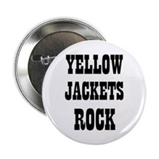 "YELLOW JACKETS ROCK 2.25"" Button (10 pack)"