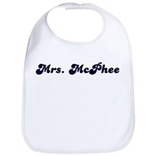 Mrs. McPhee Bib