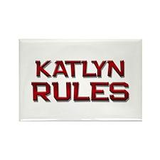 katlyn rules Rectangle Magnet