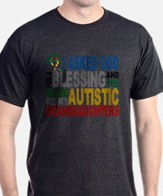 Blessing 5 Autistic Granddaughters T-Shirt