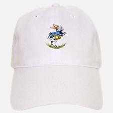 WHITE RABBIT - FOLLOW ME Baseball Baseball Cap