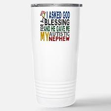 Blessing 5 Autistic Nephew Travel Mug