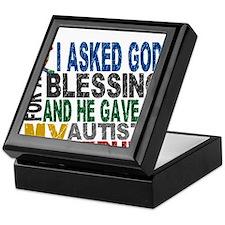 Blessing 5 Autistic Nephew Keepsake Box