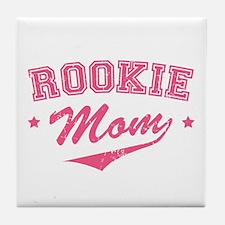 Rookie Mom Tile Coaster