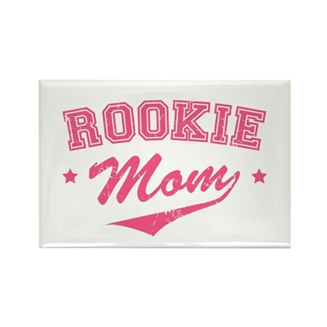 Rookie Mom Rectangle Magnet (100 pack)