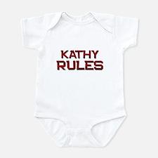 kathy rules Infant Bodysuit