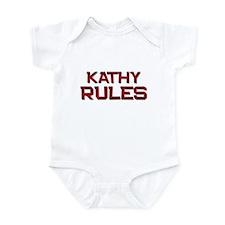 kathy rules Onesie
