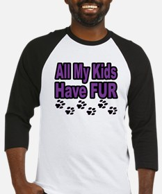My Kids Have Fur Baseball Jersey