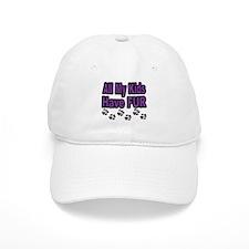 My Kids Have Fur Baseball Cap