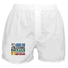 Blessing 5 Autistic Nephews Boxer Shorts