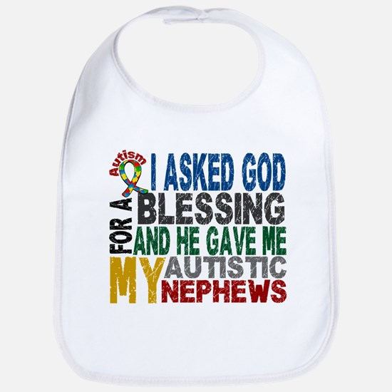 Blessing 5 Autistic Nephews Bib