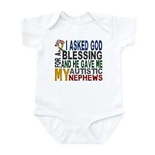Blessing 5 Autistic Nephews Infant Bodysuit
