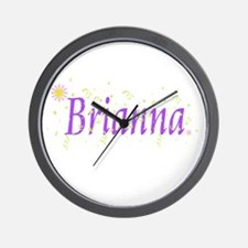 Cute Brianna Wall Clock