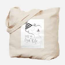 Lets Fly a Kite Tote Bag