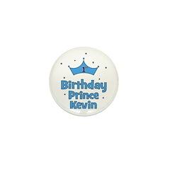 1st Birthday Prince Kevin! Mini Button