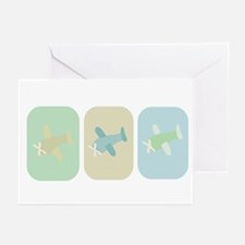AIRPLANES Greeting Cards (Pk of 10)
