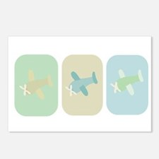 AIRPLANES Postcards (Package of 8)
