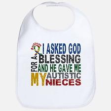 Blessing 5 Autistic Nieces Bib