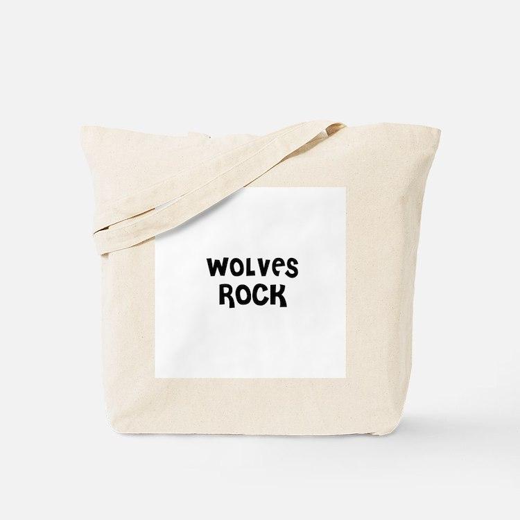 WOLVES ROCK Tote Bag