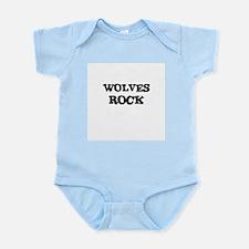 WOLVES ROCK Infant Creeper