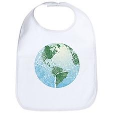 Woodgrain Earth Bib
