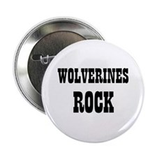 """WOLVERINES ROCK 2.25"""" Button (10 pack)"""
