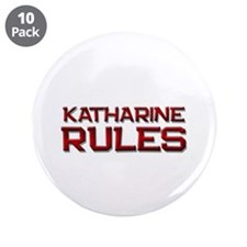 """katharine rules 3.5"""" Button (10 pack)"""