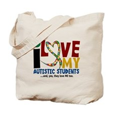 I Love My Autistic Students 2 Tote Bag