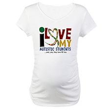 I Love My Autistic Students 2 Shirt