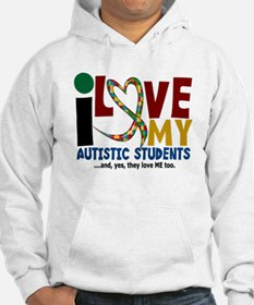I Love My Autistic Students 2 Hoodie