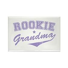 Rookie Grandma Rectangle Magnet